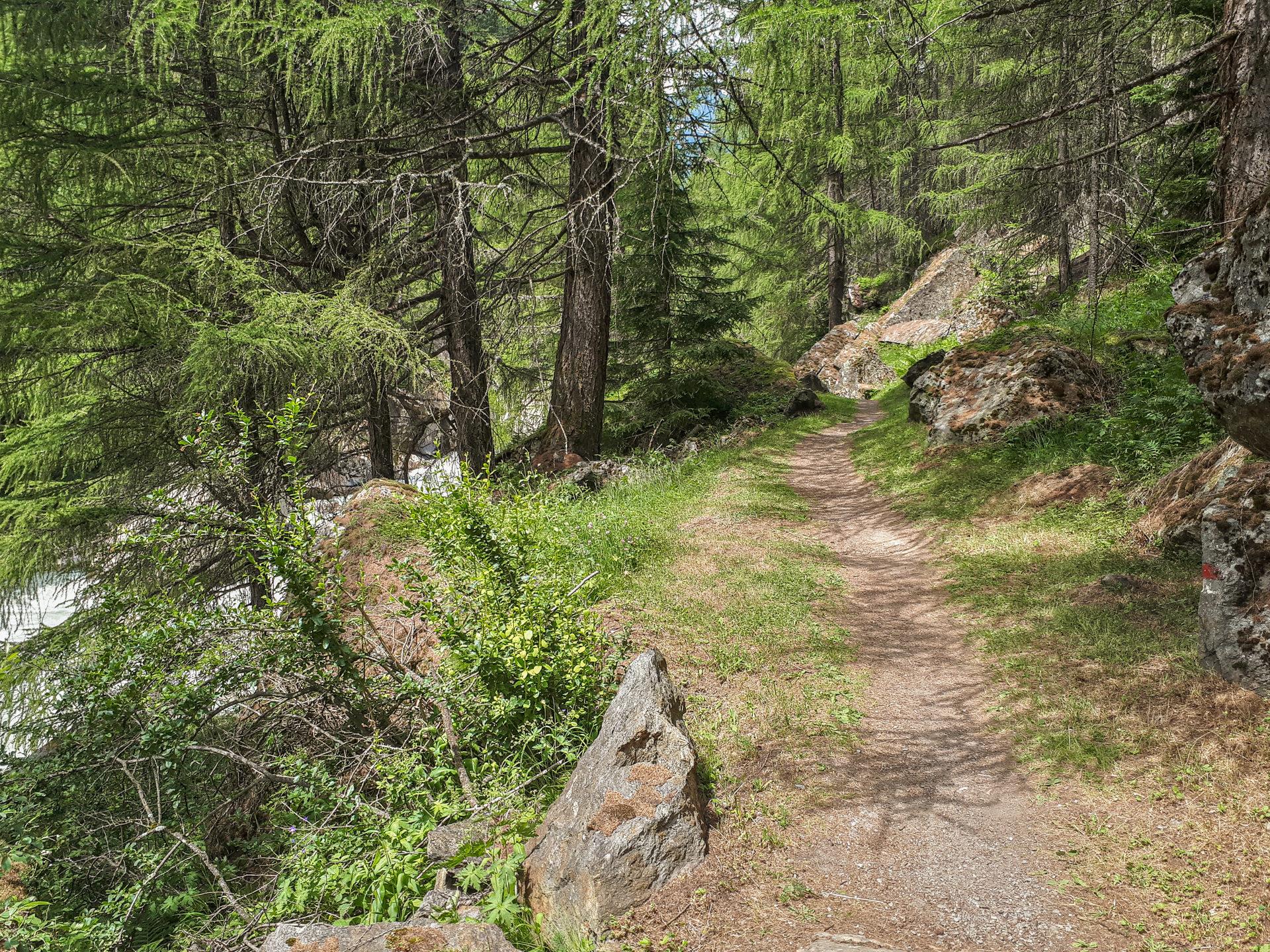 Где-то на Kühtrainschlucht Trail