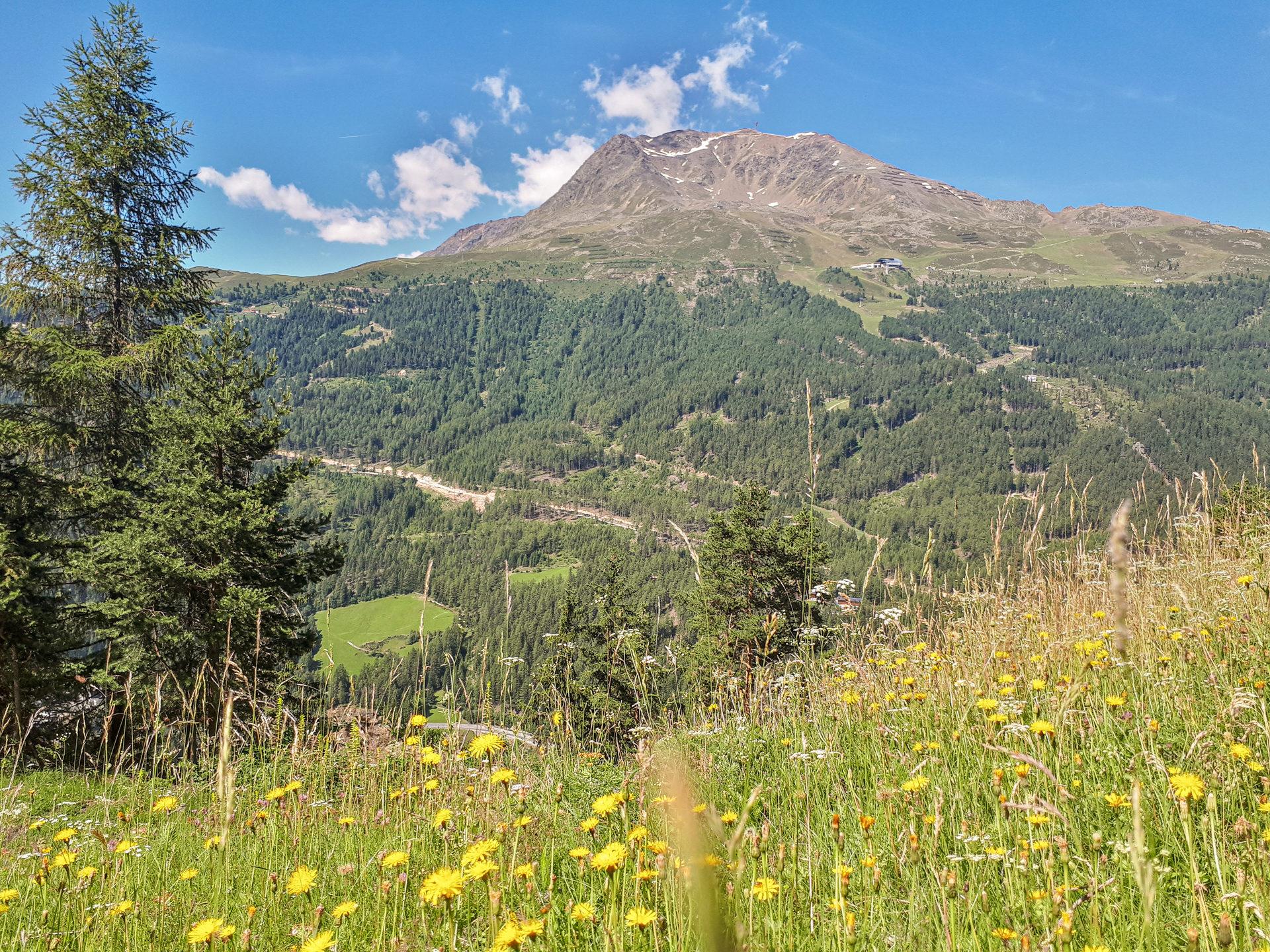 Вид на Gaislachkogel