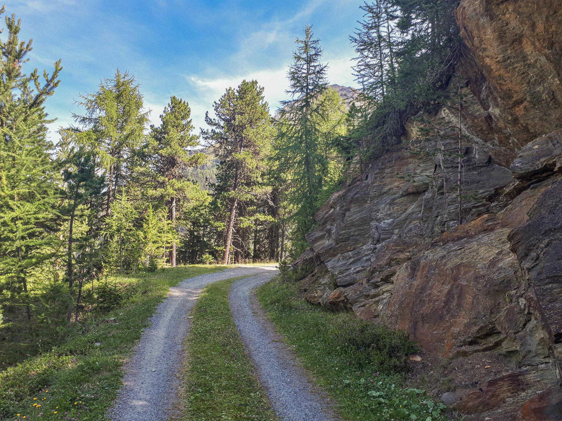 Дорога к Brunnenbergalm