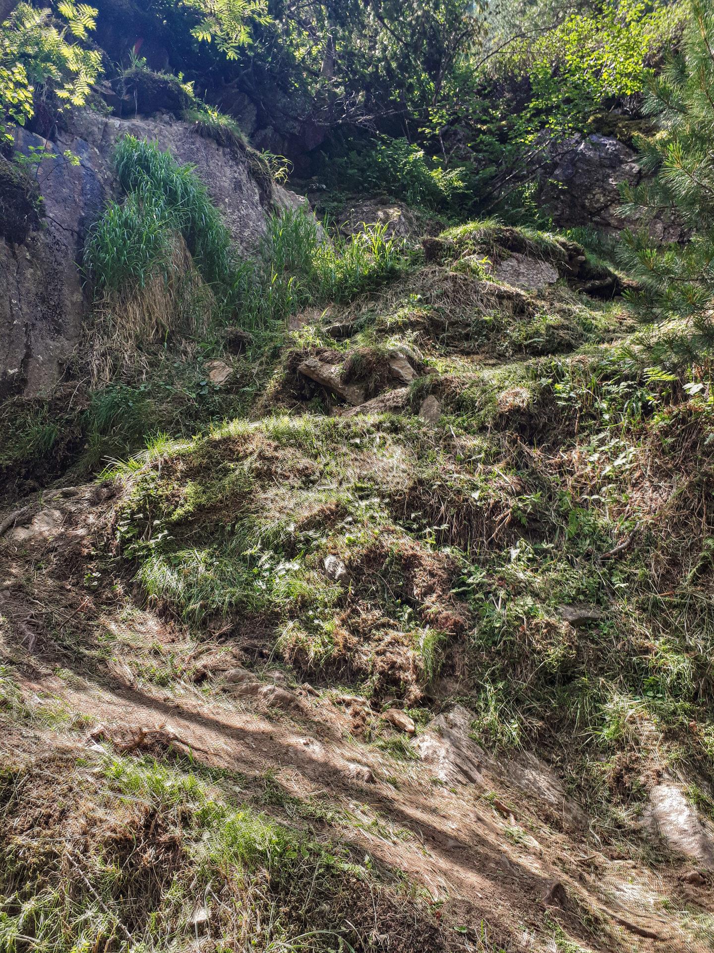 Нелегкий участок Jägers Notweg Trail