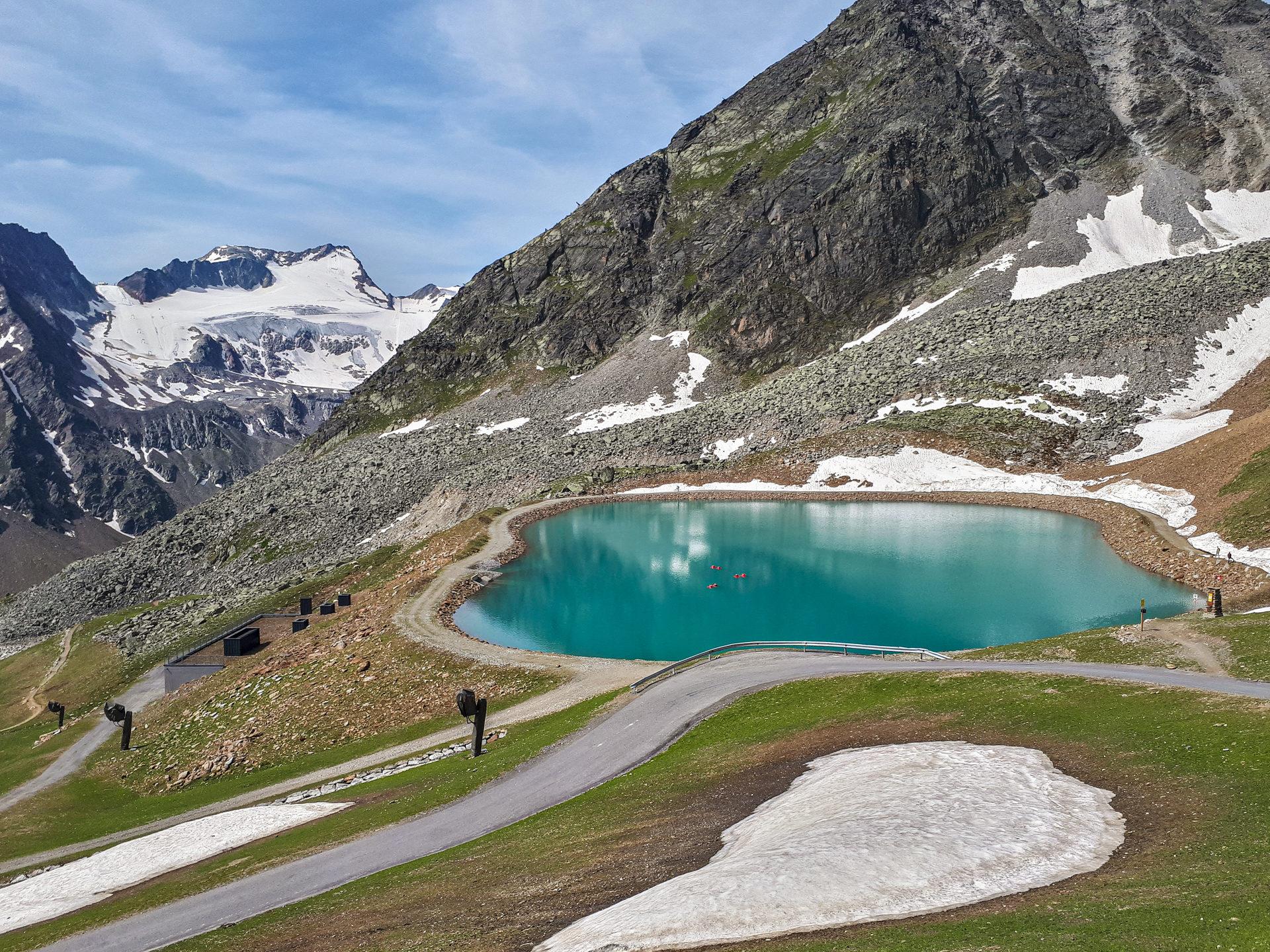 Озеро у начала Ollweite Line
